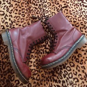 🍒 RARE! Vintage 90s Dr Martens combat boots